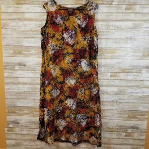 Plus Advance Apparel Rayon Long Dress 2X